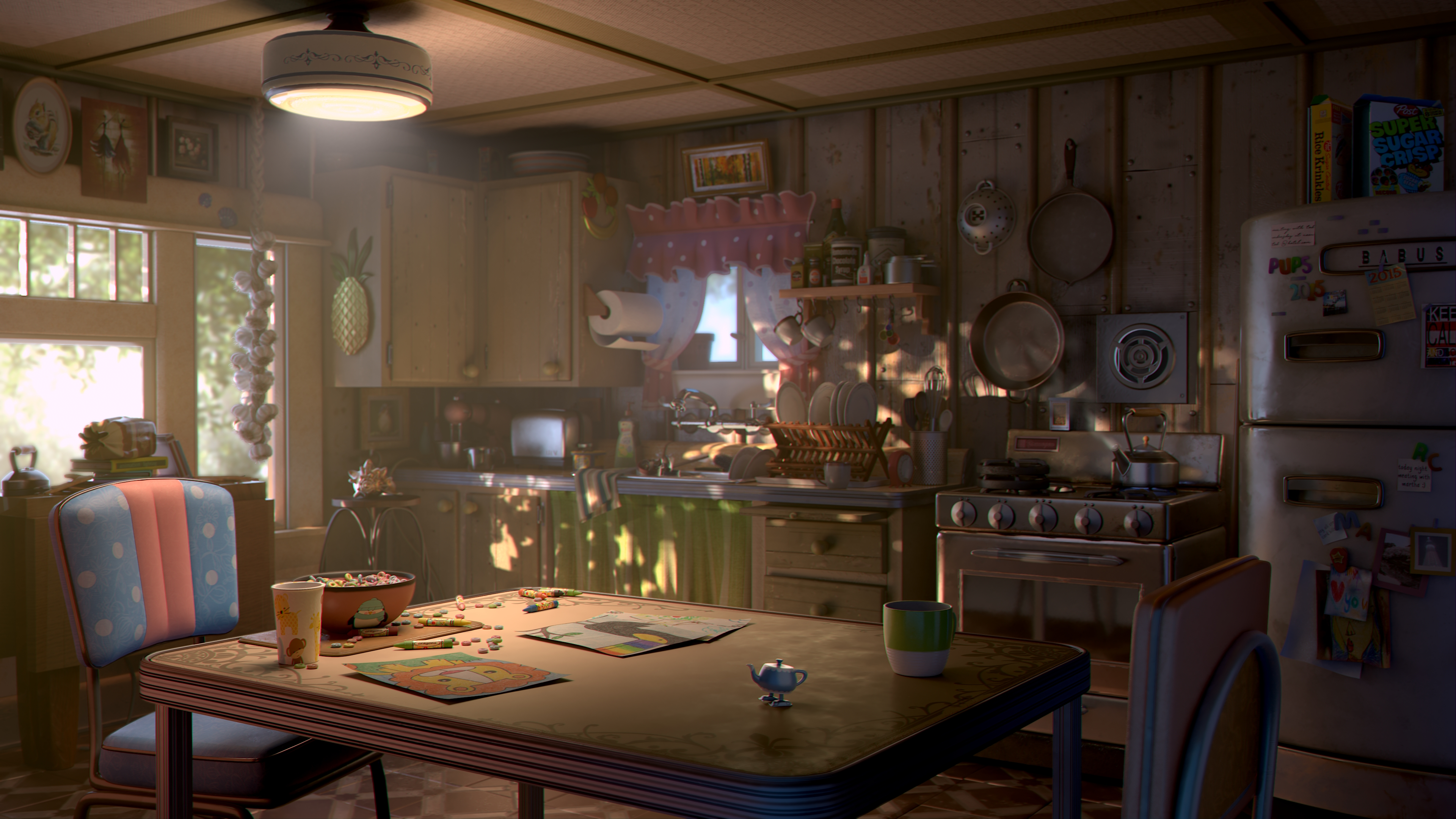 Renderman Challenge Everything And The Kitchen Sink