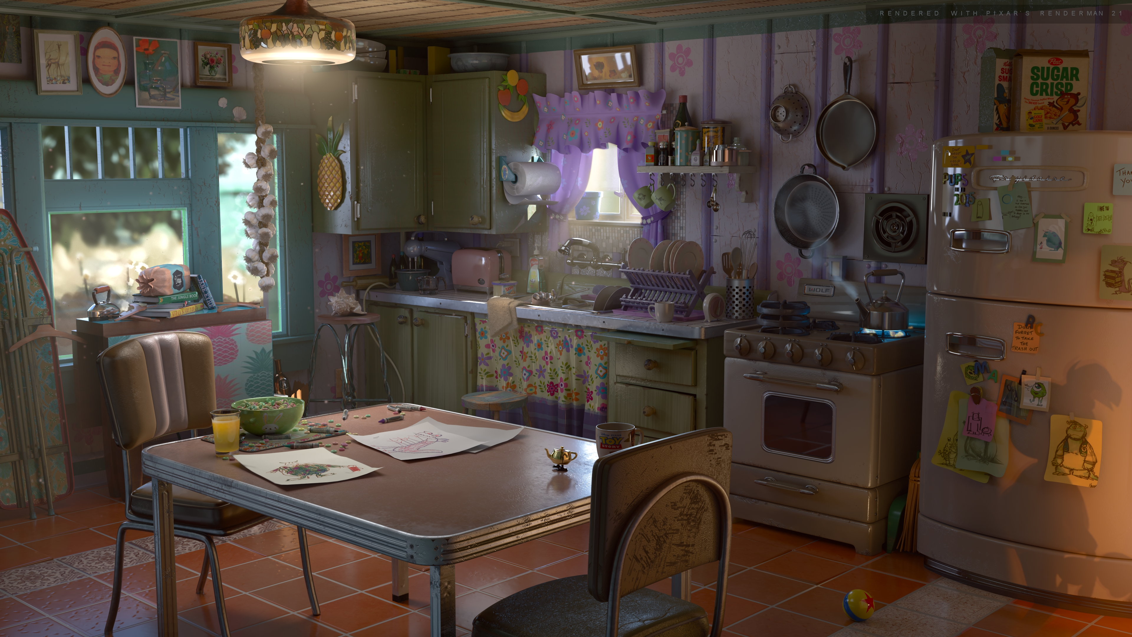 Pixar S Renderman News Everything And The Kitchen Sink